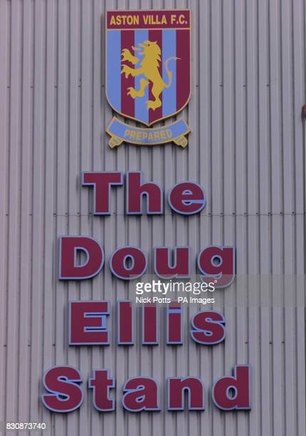 The Doug Ellis Stand at Villa Park home of Aston Villa FC THIS PICTURE CAN ONLY BE USED WITHIN THE CONTEXT OF AN EDITORIAL FEATURE NO...
