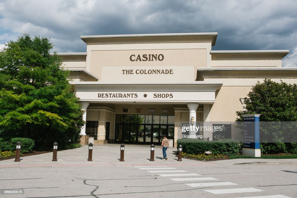 The Dover Downs Hotel and Casino stands during the launch of full-scale sports betting in Dover, Delaware, U.S., on Tuesday, June 5, 2018. Delawarebecame the first U.S. state aside from Nevada to allow wagers on individual professional sporting contests, just three weeks after the U.S. Supreme Court freed states to do so. Photographer: Michelle Gustafson/Bloomberg via Getty Images