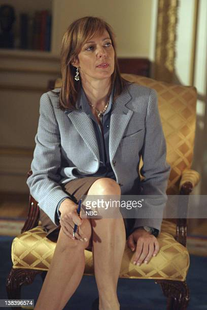 WING 'The Dover Test' Episode 6 Aired 11/24/04 Pictured Allison Janney as Claudia Jean 'CJ' Cregg