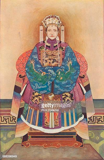The Dowager Empress of China 1908 From Harmsworth History of the World Volume 2 by Arthur Mee JA Hammerton AD Innes MA