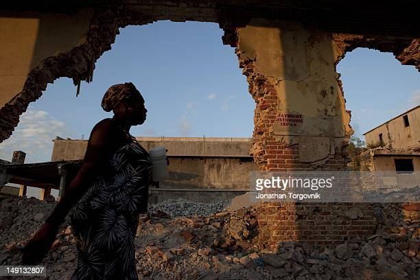 The Downtown area of Port-au-Prince was one of the hardest hit during the 2010 earthquake. It is still the main center for commerce, even with a...