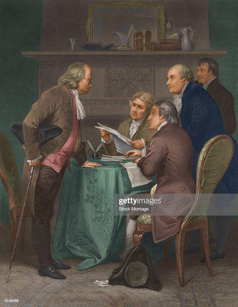 April 17 - 1790. Benjamin Franklin, American Statesman And Scientist Dies.