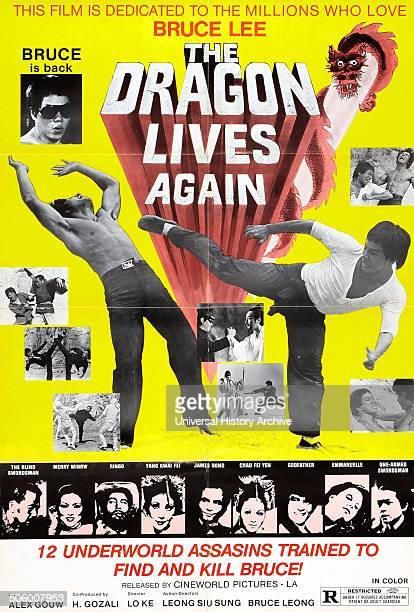 The Dragon Lives Again starring Bruce Lee a 1977 martial arts fantasy comedy