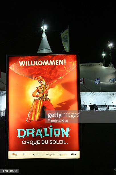 The Dralion premiere from Cirque Du Soleil In Berlin On 300806