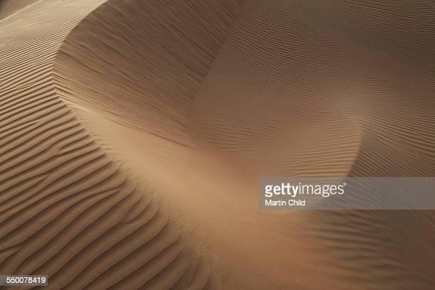 The dramatic Liwa desert landscape near Abu Dhabi