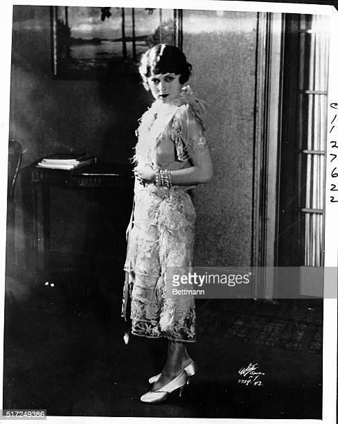 "The dramatization of Anita Loos' best seller, ""Gentlemen Prefer Blonds"" hit the Broadway boards with June Walker as the heroine, Lorelei Lee.."