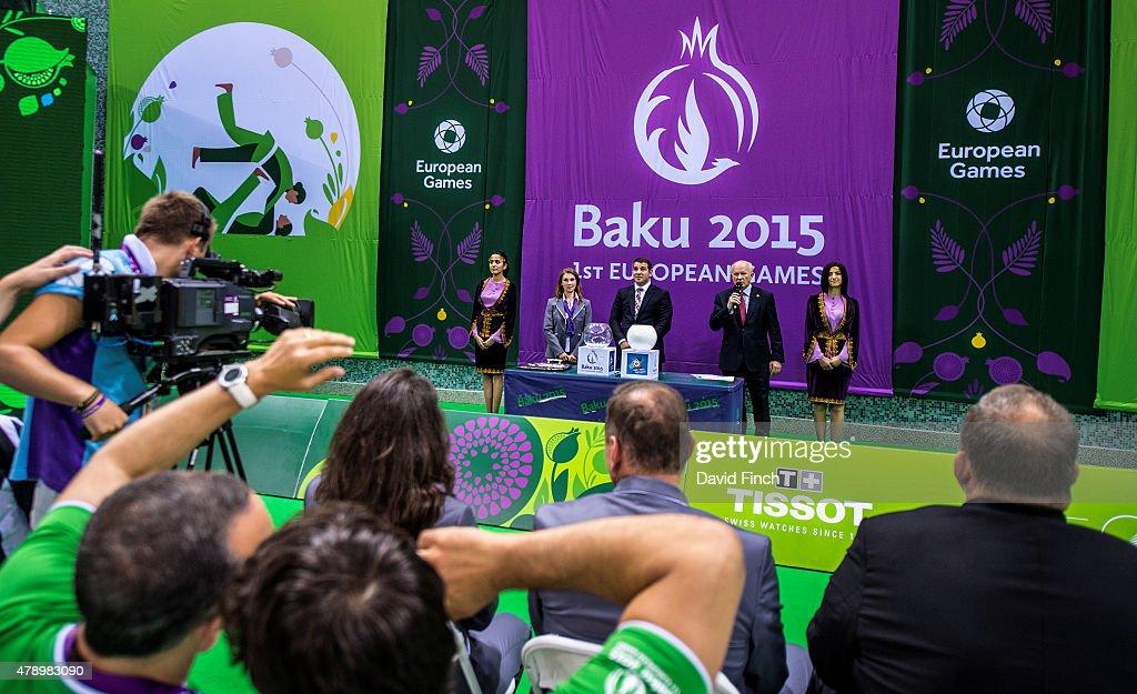 Judo Day 15: Baku 2015 - 1st European Games (G) : News Photo