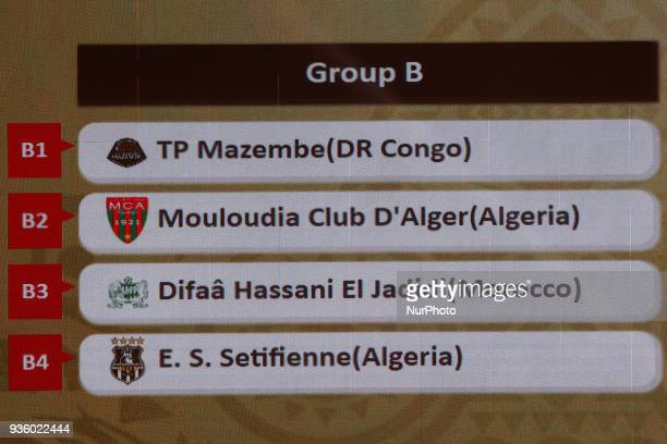 The draw of the group stage of Total CAF Champions League and 2nd 1/16th round of the Total CAF Confederation Cup conduct on Wednesday 21 March 2018...