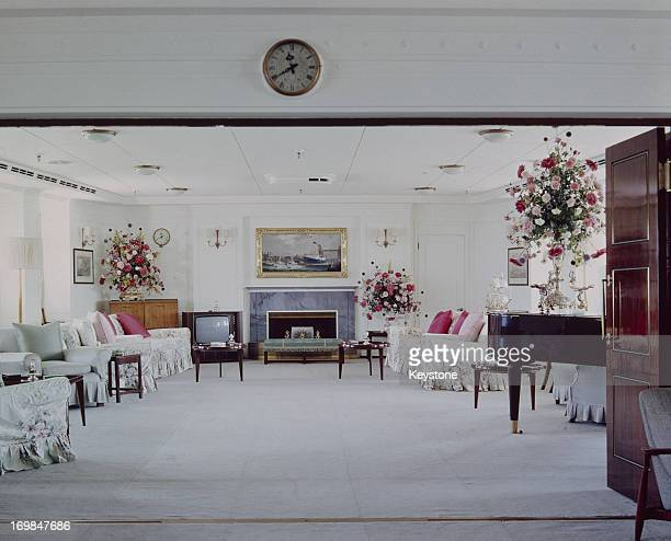 The Drawing Room on the Royal Yacht Britannia 1978
