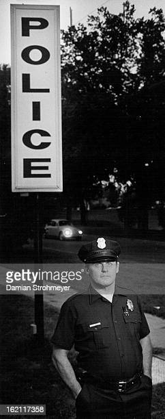 91982 SEP 24 1982 The dreaded notorious James H Snider patrolman for Denver Police District 1 To accompany Delsohn story