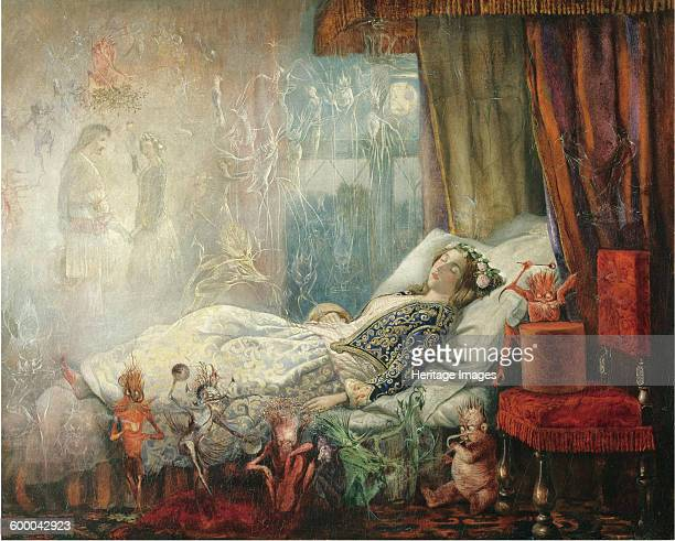 The dream after the masked ball Private Collection Artist Fitzgerald John Anster