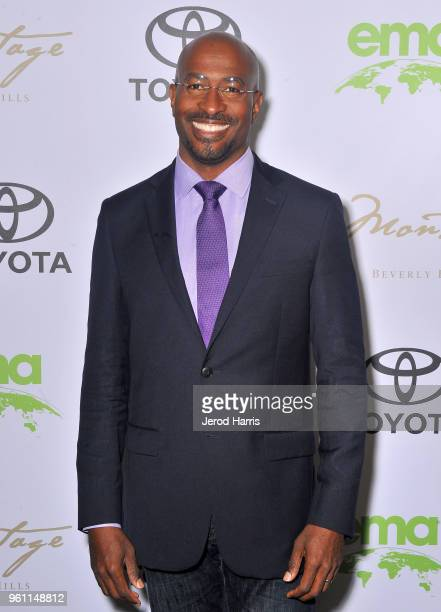 The Dream Corps President CoFounder and CNN Host Van Jones attends the EMA IMPACT Summit at Montage Beverly Hills on May 21 2018 in Beverly Hills...