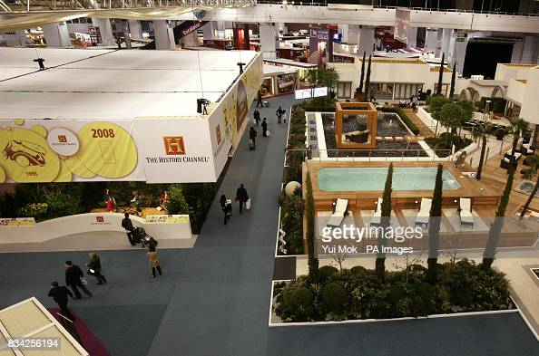 The Dream Home exhibit on the first day of the Ideal Home ... on art eye view, balloons eye view, 1 point perspective worms eye view, worm's eye view, point of view, nature eye view, buildings eye view, birds of the smithsonian national zoo, frogs eye view,
