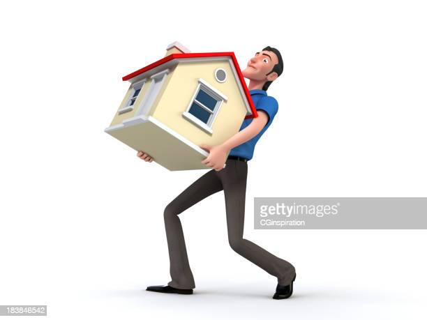 the dream house - chubby credit stock pictures, royalty-free photos & images