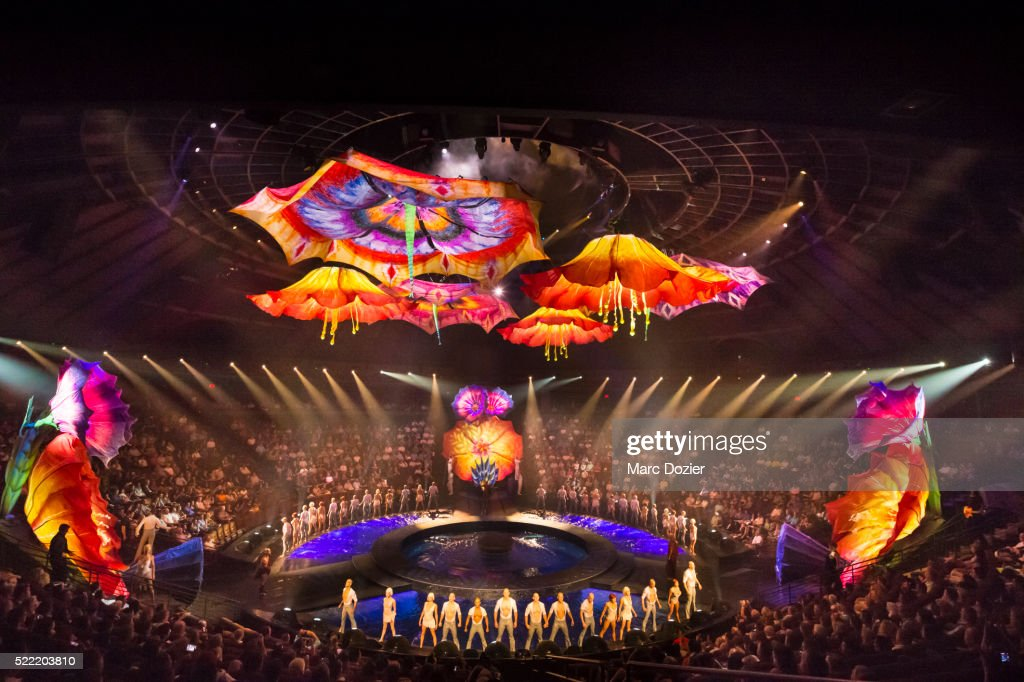 The Dream Le Rêve Show In Las Vegas Stock Photo | Getty Images