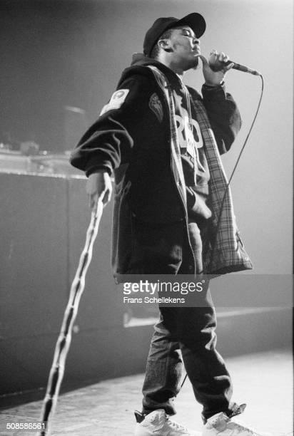 The Dream Warriors perform at the Paradiso on 25th April 1991 in Amsterdam, Netherlands.