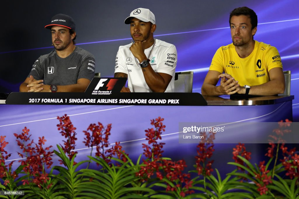 F1 Grand Prix of Singapore - Previews