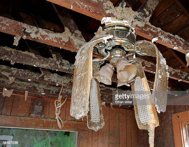 Ceiling fan stock photos and pictures getty images the drooping blades of a ceiling fan are seen in a damaged house in the lower publicscrutiny Choice Image