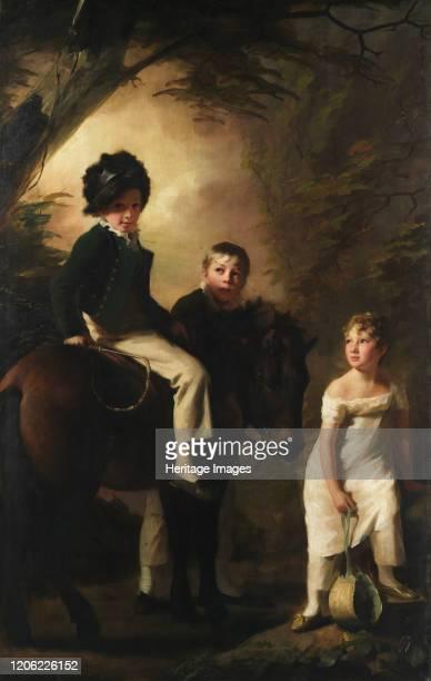 The Drummond Children circa 18089 Artist Henry Raeburn