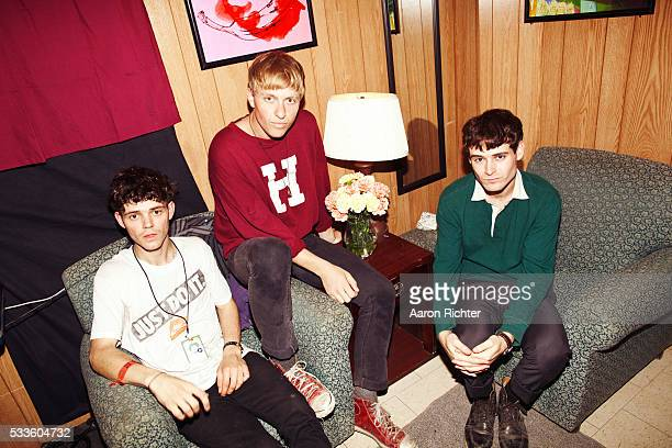 The Drums are photographed for Spin Magazine at Bonnaroo on June 9, 2011 in Manchester, Tennessee.