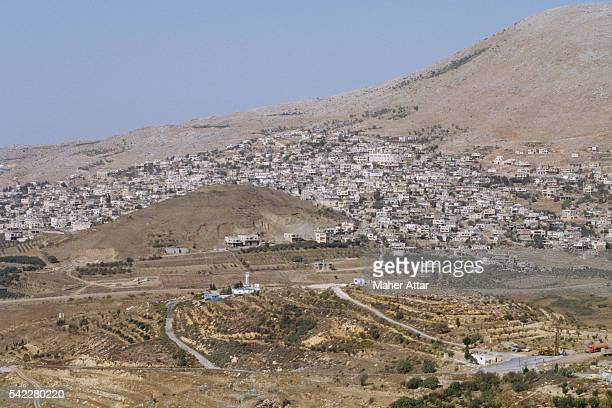 The Druze village of Majdal Shams Since the June 1967 SixDay War the village has been controlled by Israel but only 10 percent of the Golan Druze...