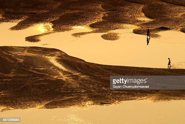 The drying Mekong River