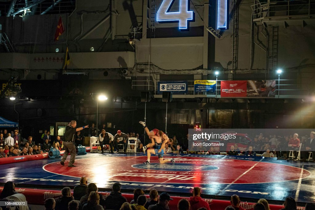 The Dual for Valor, Battle of the Midway college wrestling
