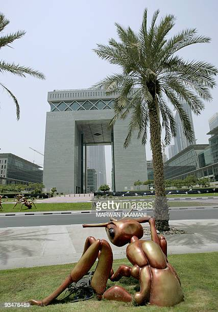 The Dubai International Financial Centre 'The Gate' pictured on July 10 2008 is the first building in the Dubai Financial District near the Emirates...