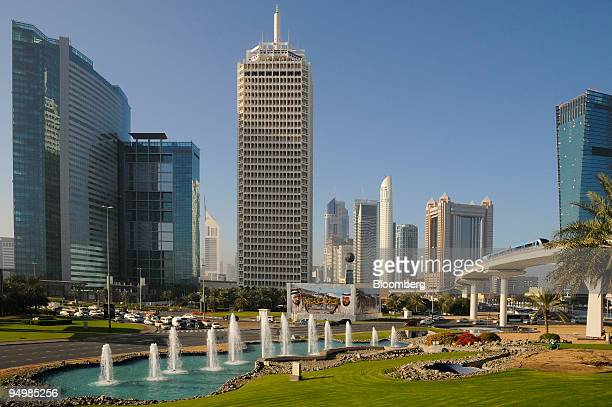 The Dubai World Trade Centre complex stands in Dubai United Arab Emirates on Monday Dec 21 2009 Dubai World did not present a 'standstill' offer to...