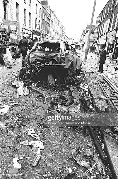 The Dublin bombing in Talbot Steet