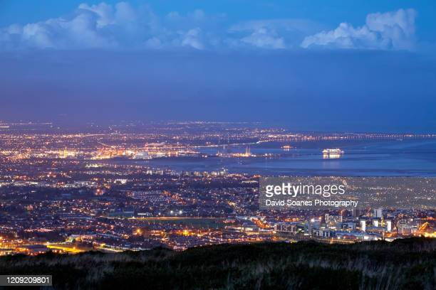 the dublin mountains, ireland - david soanes stock pictures, royalty-free photos & images