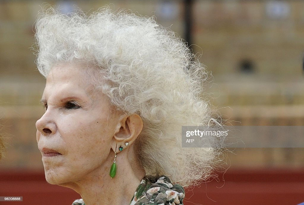 The Duchess of Alba Cayetana Fitz-James : News Photo