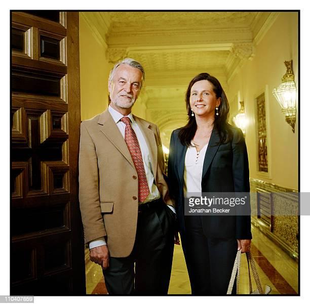 The Duchess of Alba, Dona Cayetana Fitz-James Stuart's neurosurgeon, Francisco Trujillo is photographed for Vogue Espana on March 15-17, 2010 in...