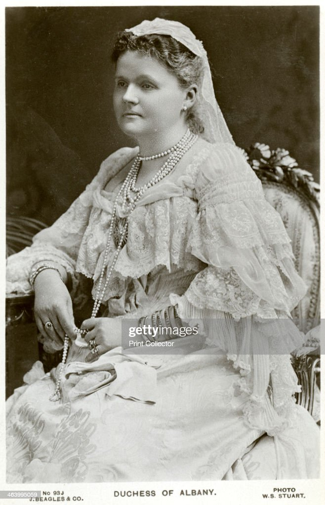 The Duchess of Albany, c1900s(?).Artist: WS Stuart : News Photo