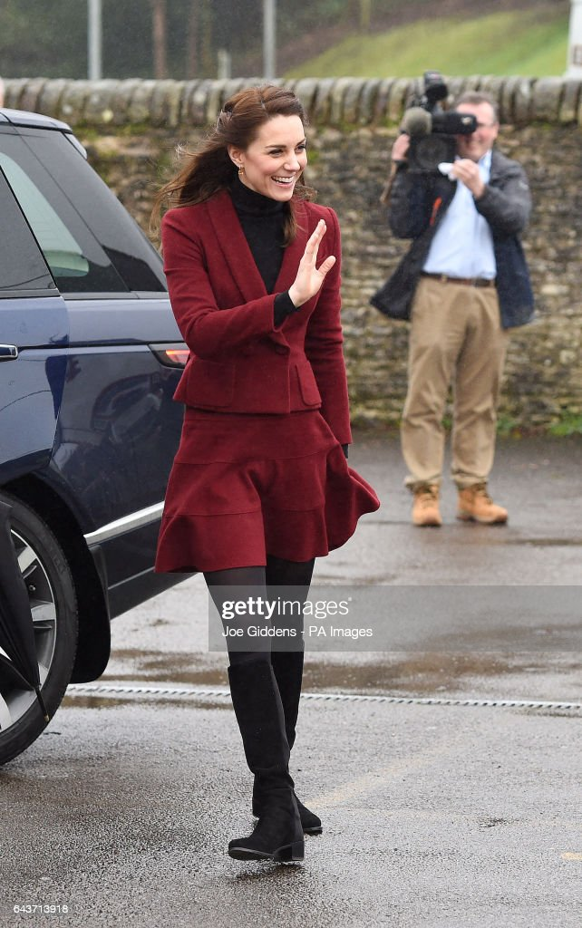 Royal visit to Wales : News Photo