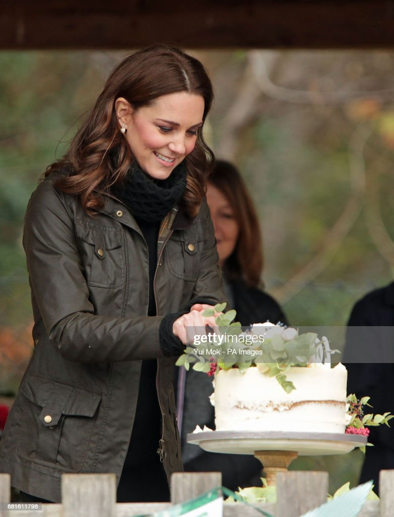 The Duchess of Cambridge at the Robin Hood Primary School in London.