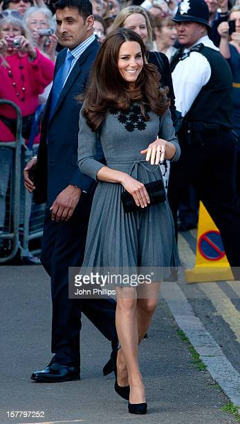 The Duchess Of Cambridge Attends Dulwich Picture Gallery In Dulwich Village London As Part Of The Prince'S Foundation For Children The Arts Royal...