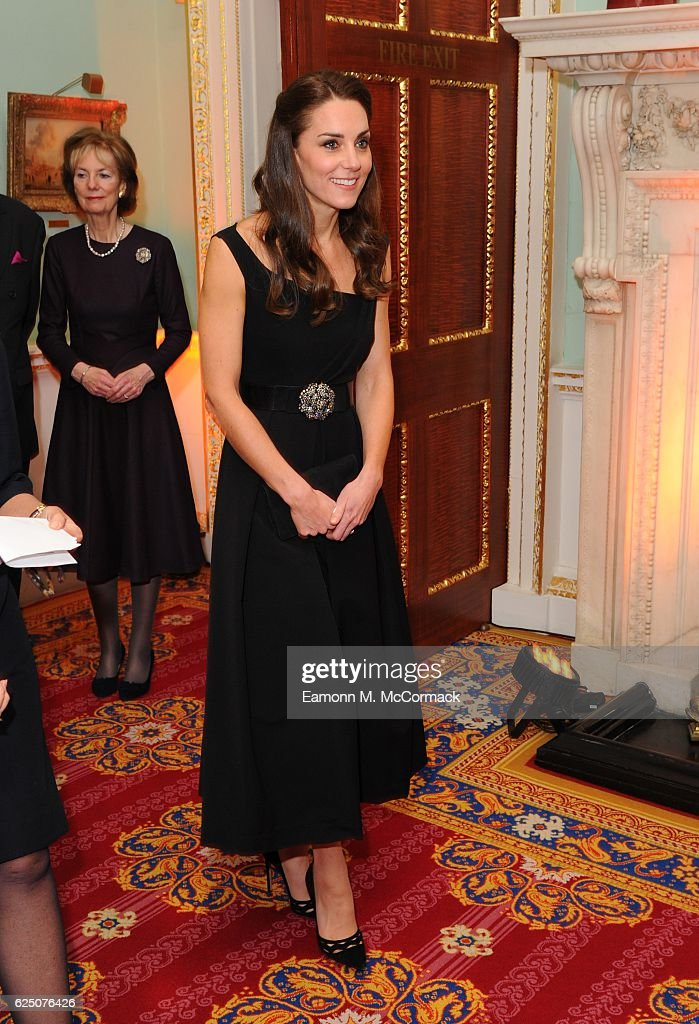 The Duchess Of Cambridge Attends Place2Be Wellbeing In Schools Awards : News Photo
