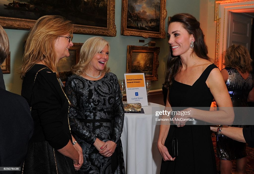 The Duchess of Cambridge attends Place2Be Wellbeing in Schools Awards at Mansion House on November 22, 2016 in London, United Kingdom.