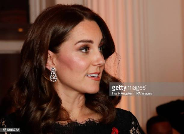 The Duchess of Cambridge attends the Anna Freud National Centre for Children and Families gala dinner at Kensington Palace London