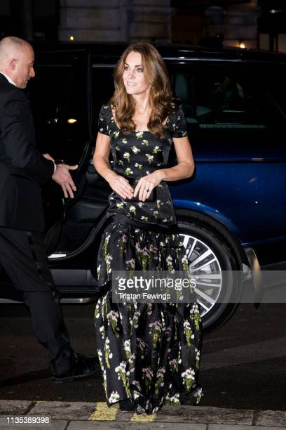 The Duchess of Cambridge attends the Portrait Gala at National Portrait Gallery on March 12 2019 in London England