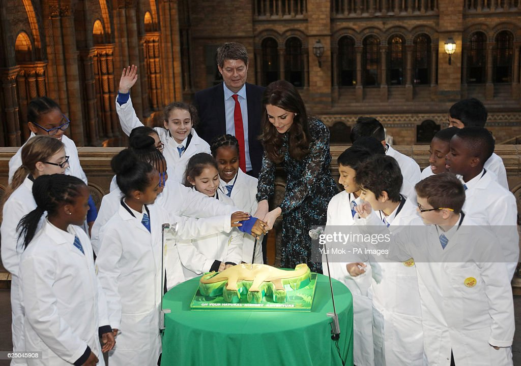 Royal visit to the Natural History Museum : News Photo