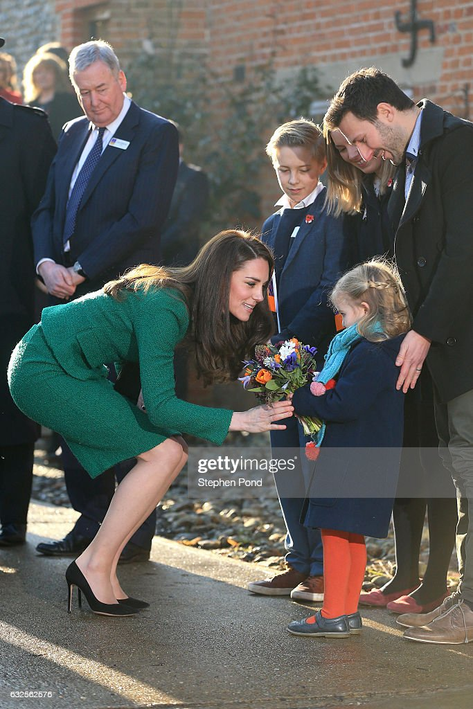 The Duchess of Cambridge Visits East Anglia's Children's Hospice At Quidenham : News Photo