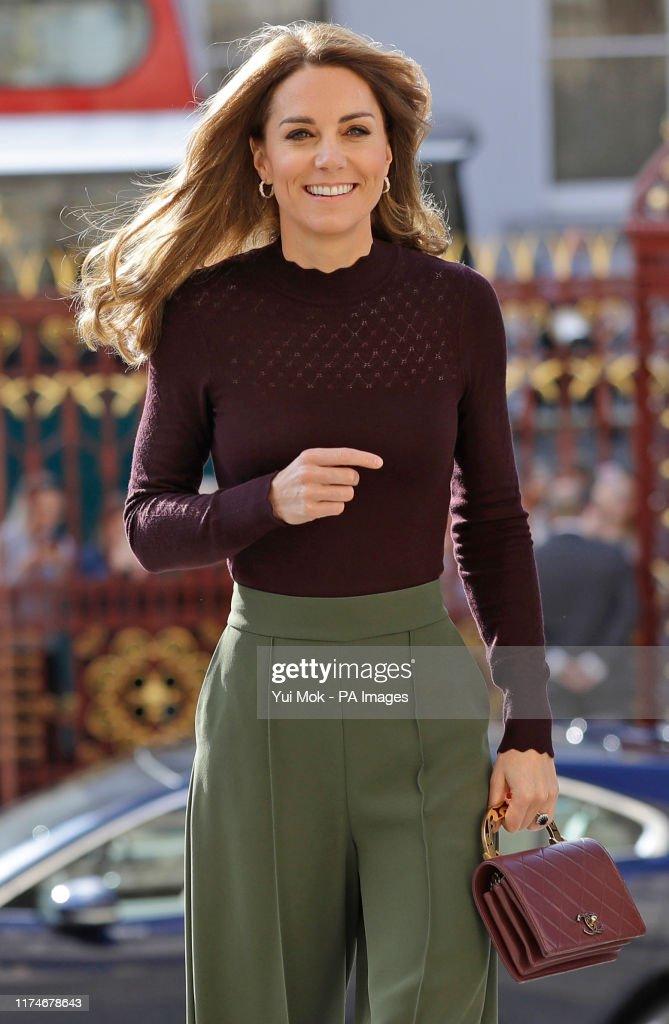 Duchess of Cambridge visits Natural History Museum : News Photo