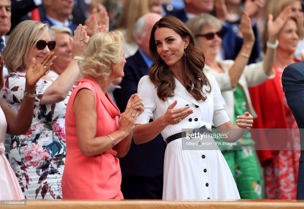 Wimbledon 2019 - Day Two - The All England Lawn Tennis and Croquet Club : News Photo