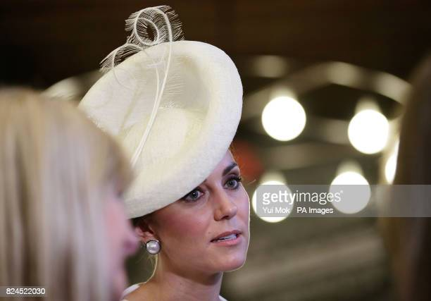 The Duchess of Cambridge meets descendants of those who fought in WW1 in Cloth Hall Ypres for an event that will tell the story of the four years of...