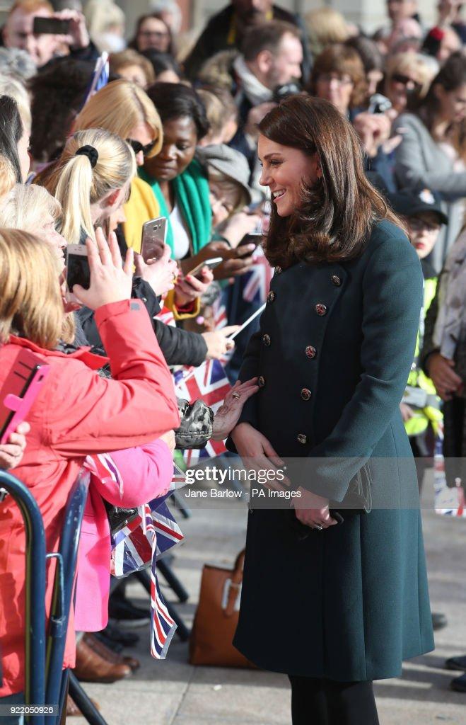 Royal visit to Sunderland : News Photo