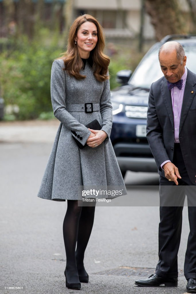 GBR: The Duchess Of Cambridge Visits The Foundling Museum