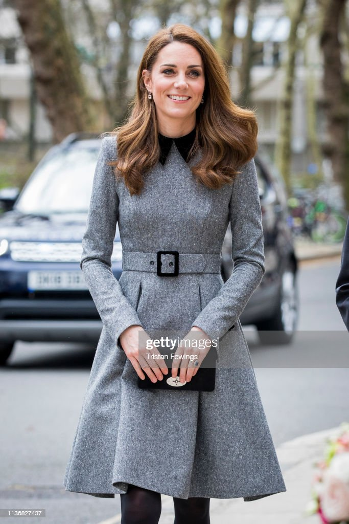 The Duchess Of Cambridge Visits The Foundling Museum : News Photo