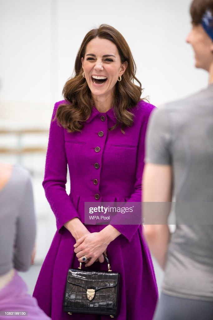 The Duchess Of Cambridge Visits The Royal Opera House : News Photo
